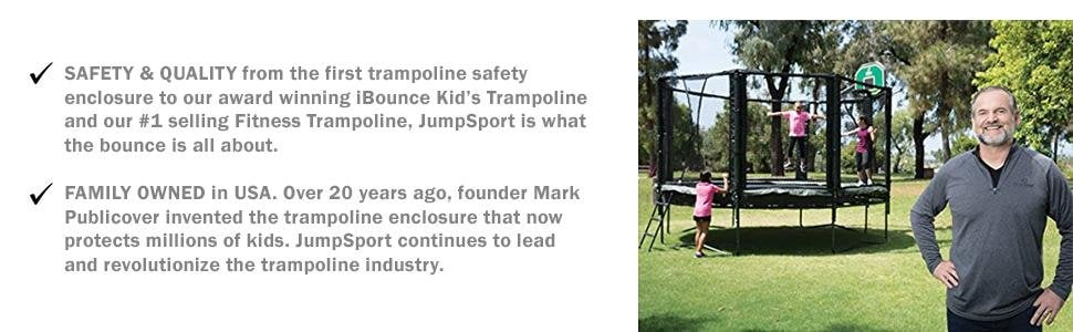 AlleyOOP by JumpSport - Safety & Quality, Family Owned in the USA